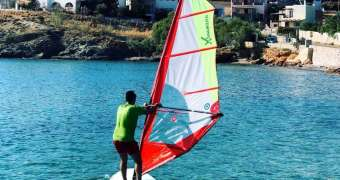 Windsurfing Summer Class από τον ΝΟ Σύρου