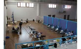 Ξεκίνησε στο ΔΑΠΠΟΣ η59η εθελοντική αιμοδοσία της Τράπεζας Αίματος Σαντορίνης