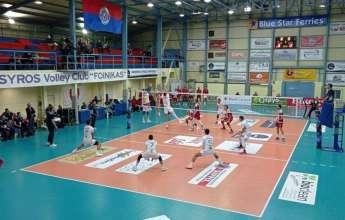Volley League: Τα αποτελέσματα 5ης αγωνιστικής και η βαθμολογία